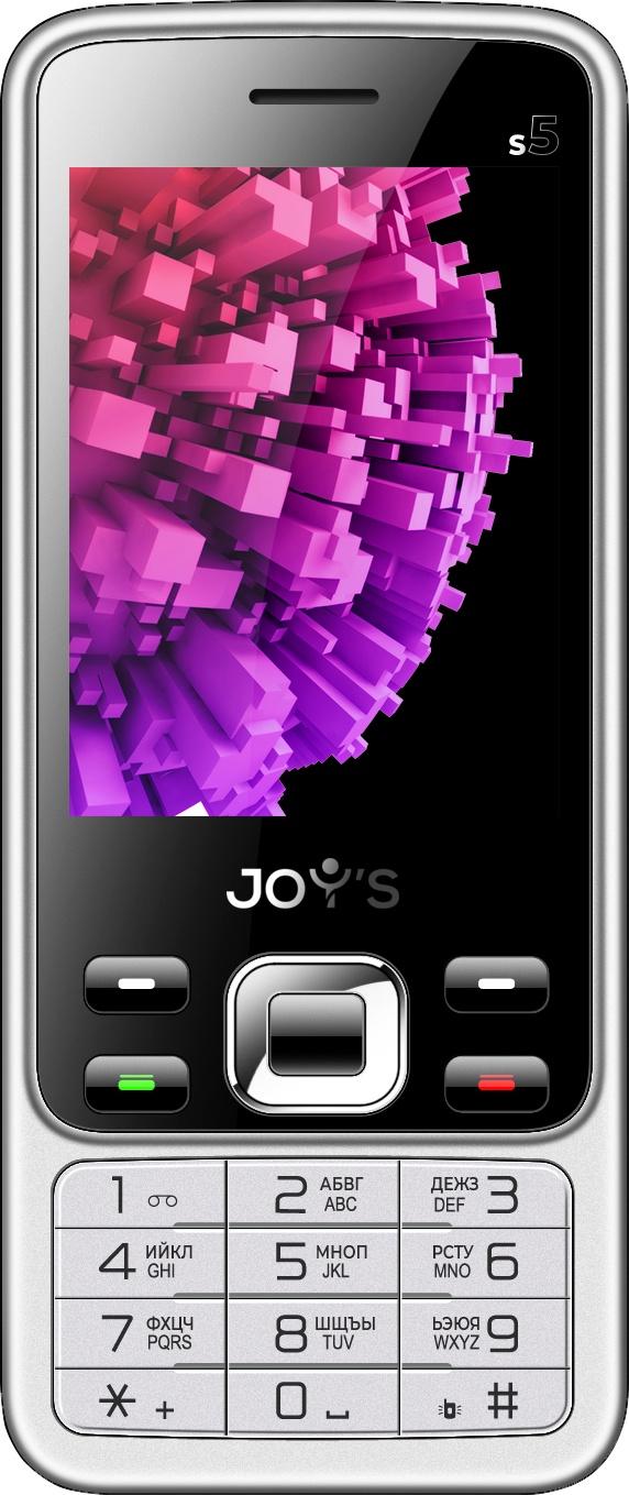 Мобильный телефон Joys S5 Black-Silver