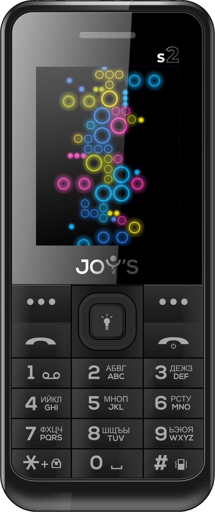 Мобильный телефон Joys S2 DS Black мобильный телефон joys s7 ds черный