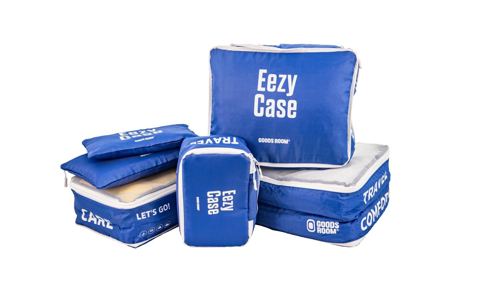 Eezy Case - Система хранения вещей в чемодане.