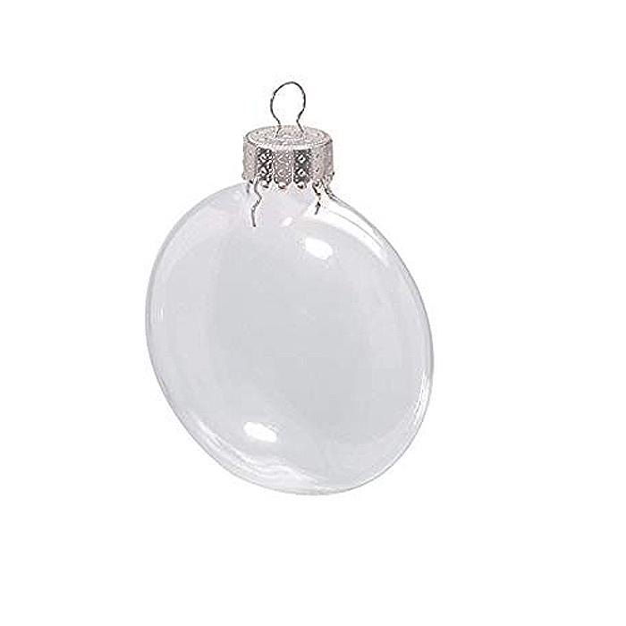 Шар Darice. Стеклянные елочные шары-диски 6,6 см