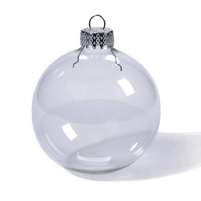Шар Darice. Стеклянные елочные шары 10 см