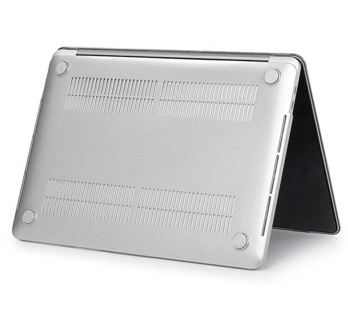 """Чехол Gurdini накладка пластик матовый 904544 для Apple MacBook Retina 13"""" 2013-2015,904544, серебристый"""