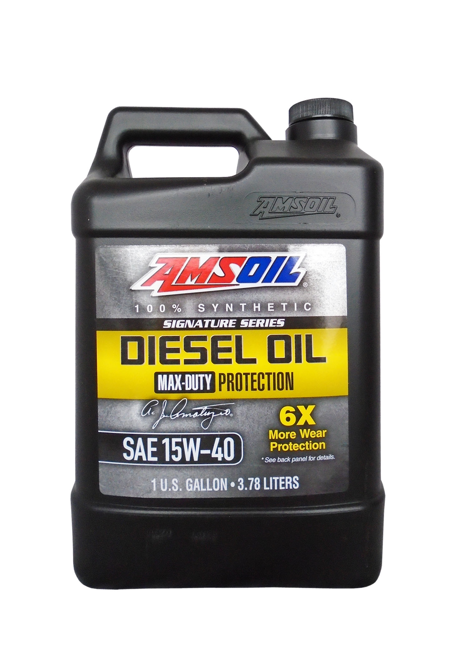 Моторное масло AMSOIL Max-Duty Synthetic Diesel Oil SAE 15W-40 (3.78л)
