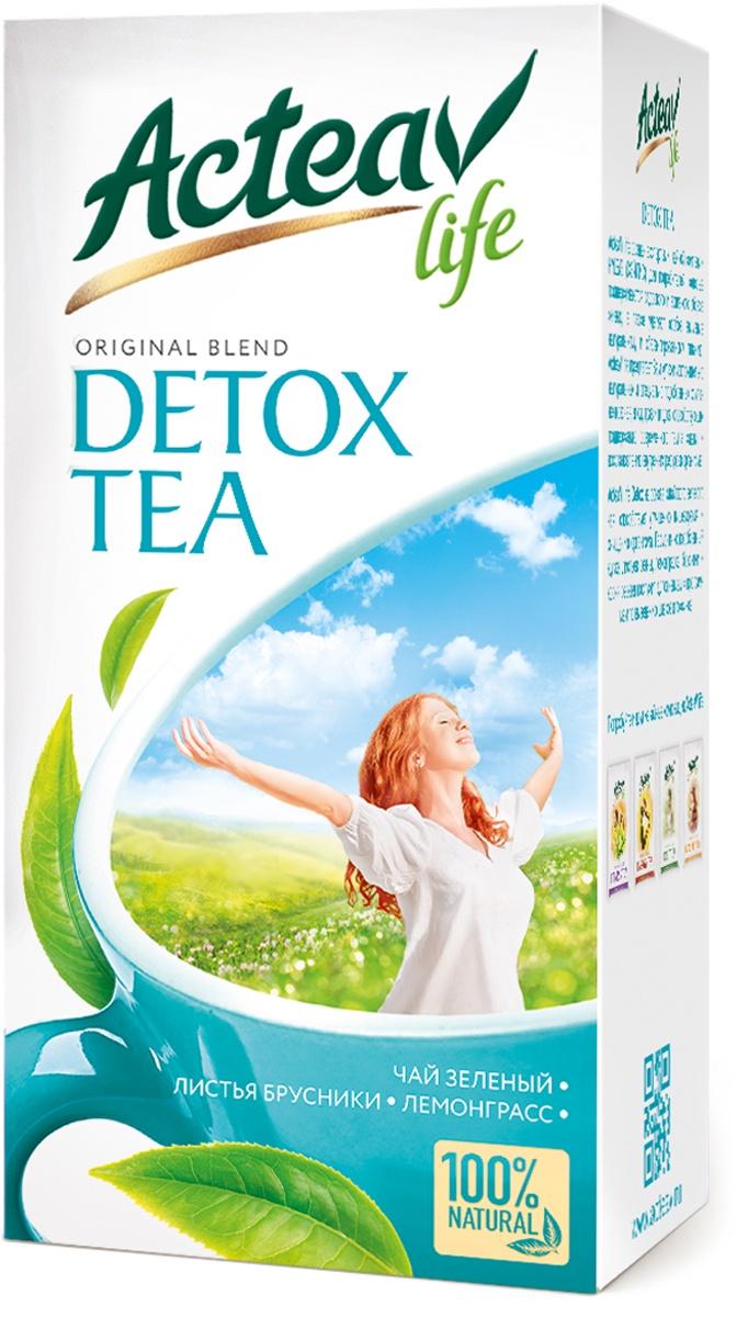 Чай Acteav Life ДЕТОКС 25 пак х 2г зеленый ароматизированный чай медвежья сила