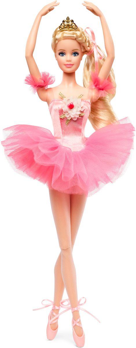 Barbie Коллекционная кукла Звезда балета кукла teddy балерина в красной пачке 40 см m6019