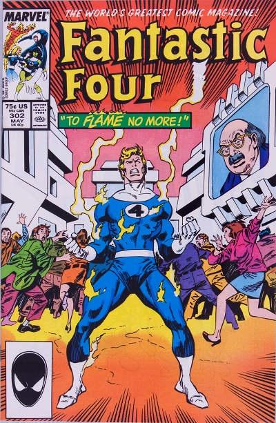 Tom DeFalco Fantastic Four #302