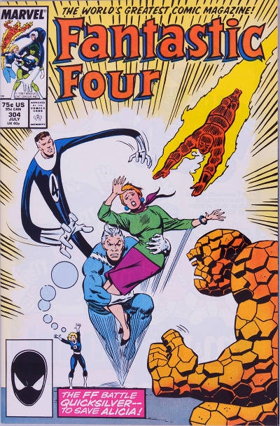 Steve Englehart Fantastic Four #304