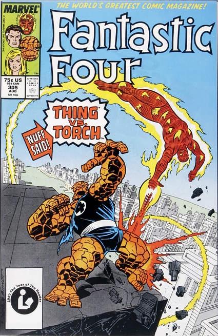 Steve Englehart Fantastic Four #305
