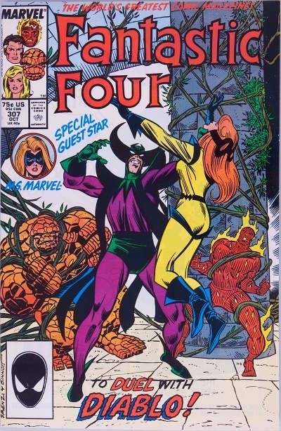 Steve Englehart Fantastic Four #307 now is good
