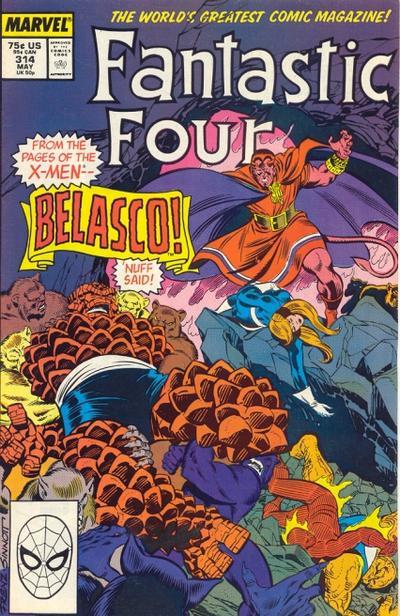 Steve Englehart Fantastic Four #314