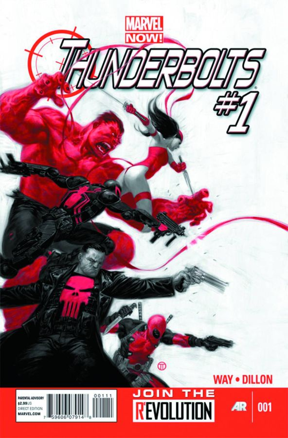 Daniel Way Thunderbolts #1