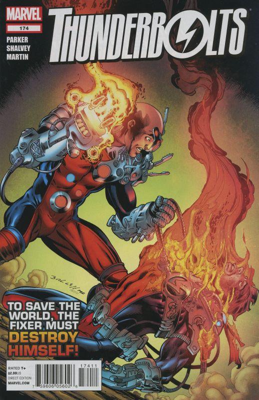 Jeff Parker Thunderbolts 1997 #174