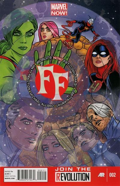 Matt Fraction FF (2013) #2
