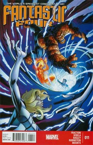 Matt Fraction Fantastic Four (2013) #11