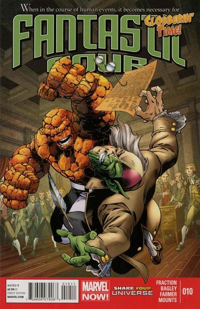 Matt Fraction Fantastic Four (2013) #10 fantastic four by matt fraction omnibus