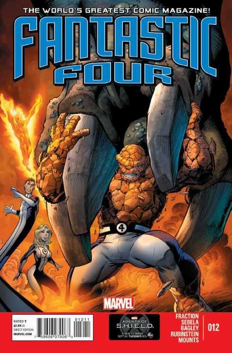 Matt Fraction Fantastic Four (2013) #12
