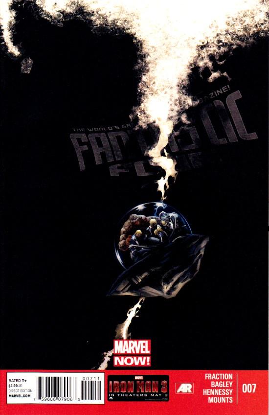 Matt Fraction Fantastic Four (2013) #7 fantastic four by matt fraction omnibus
