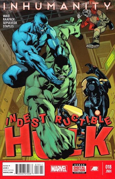 Mark Waid Indestructible Hulk (2013) #18