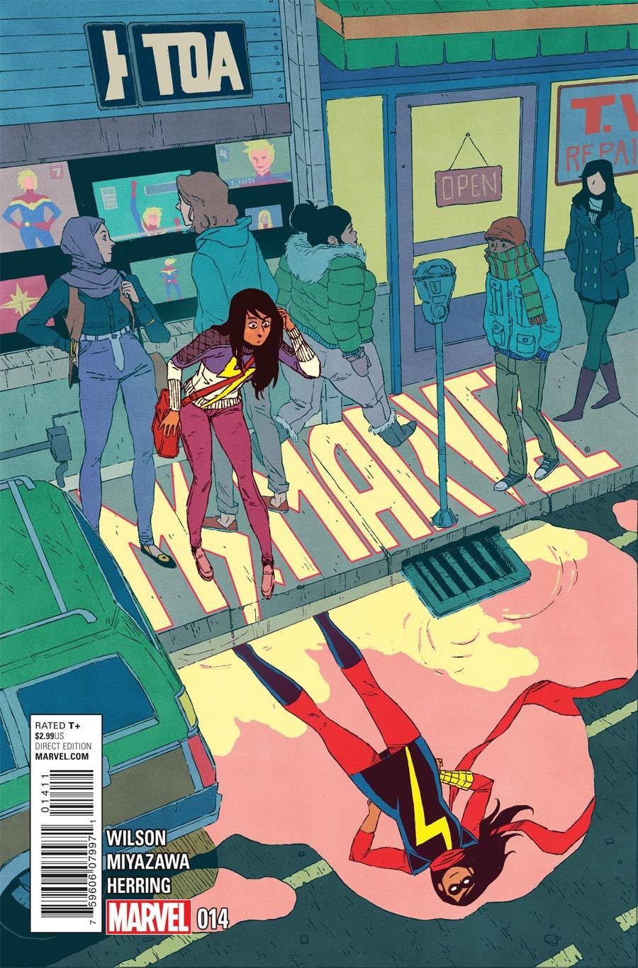 G. Willow Wilson Ms. Marvel (2014) #14