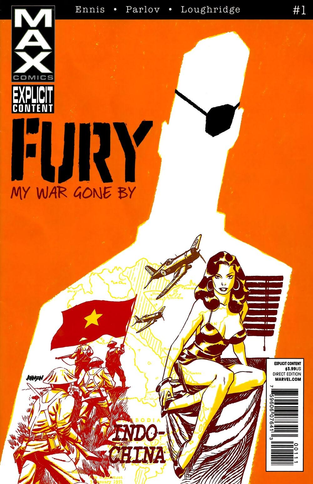 Ennis Parlov Loughridge Fury Max (2012 Marvel) #1 kenyon s born of fury