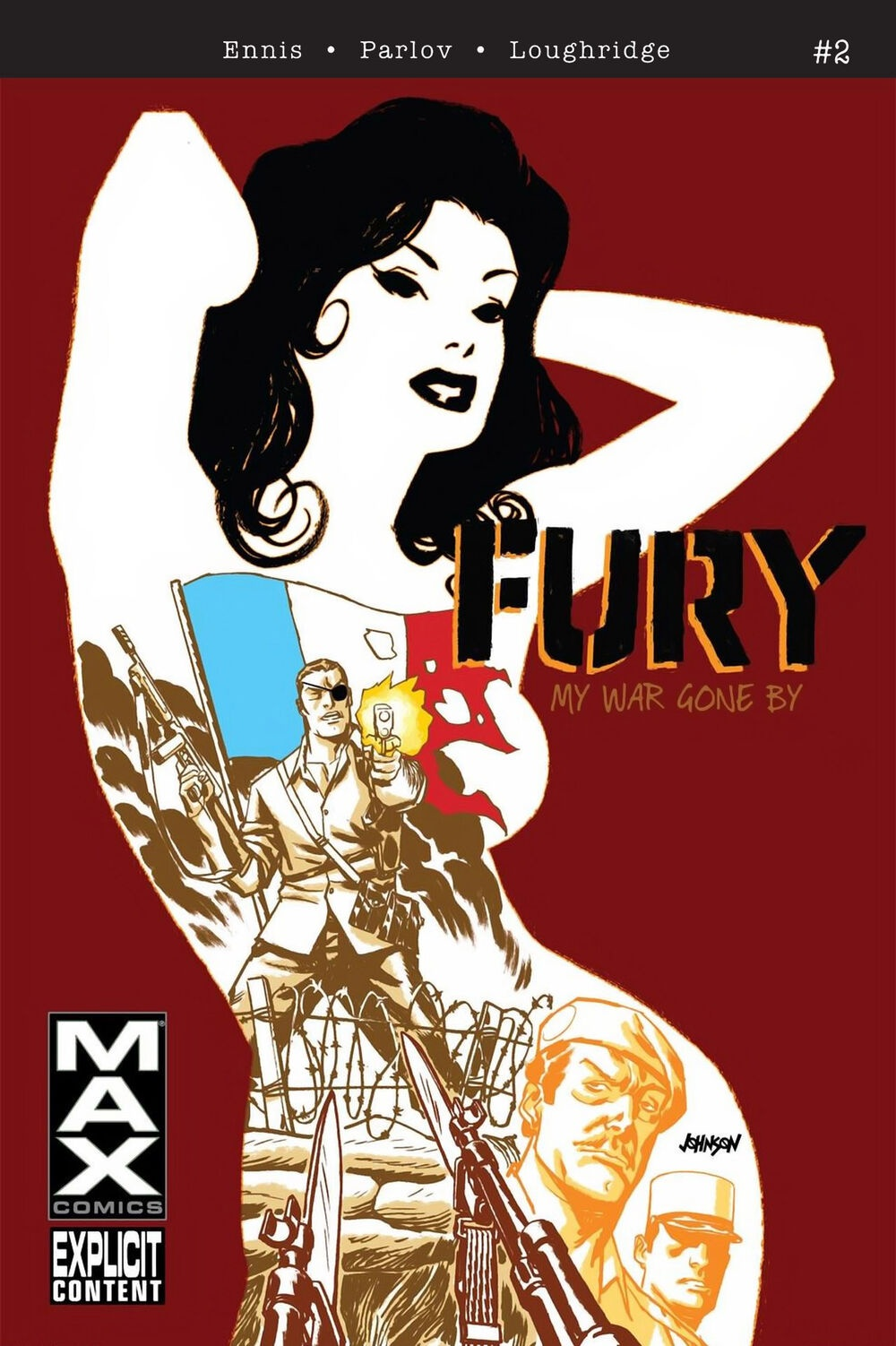 Ennis Parlov Loughridge Fury Max (2012 Marvel) #2