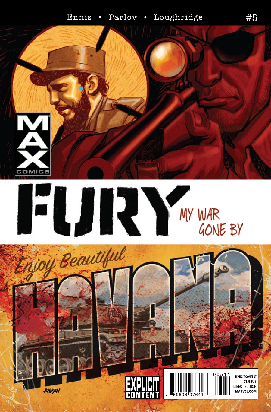 Ennis Parlov Loughridge Fury Max (2012 Marvel) #5