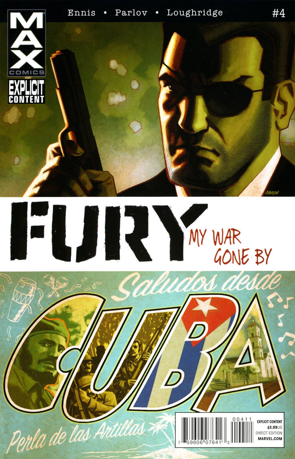 Ennis Parlov Loughridge Fury Max (2012 Marvel) #4