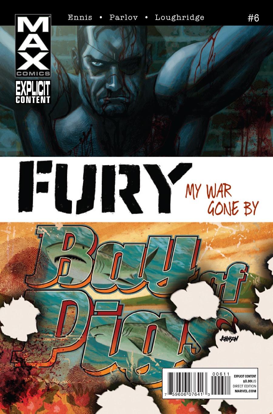 Ennis Parlov Loughridge Fury Max (2012 Marvel) #6 kenyon s born of fury
