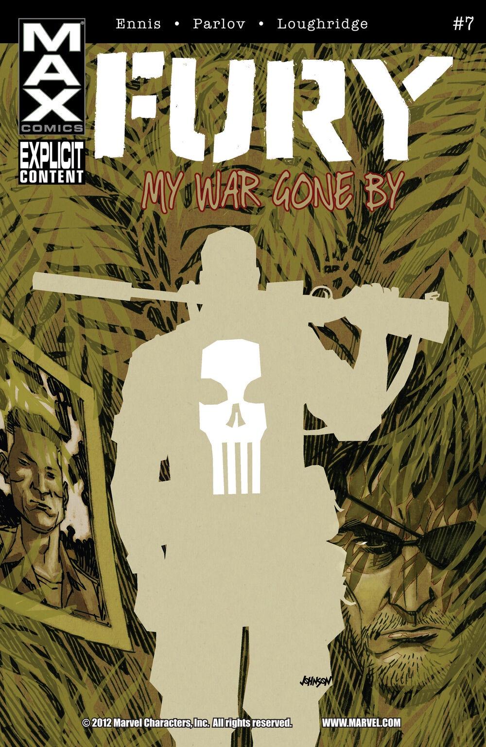 Ennis Parlov Loughridge Fury Max (2013 Marvel) #7 ennis parlov loughridge fury max 2012 marvel 4