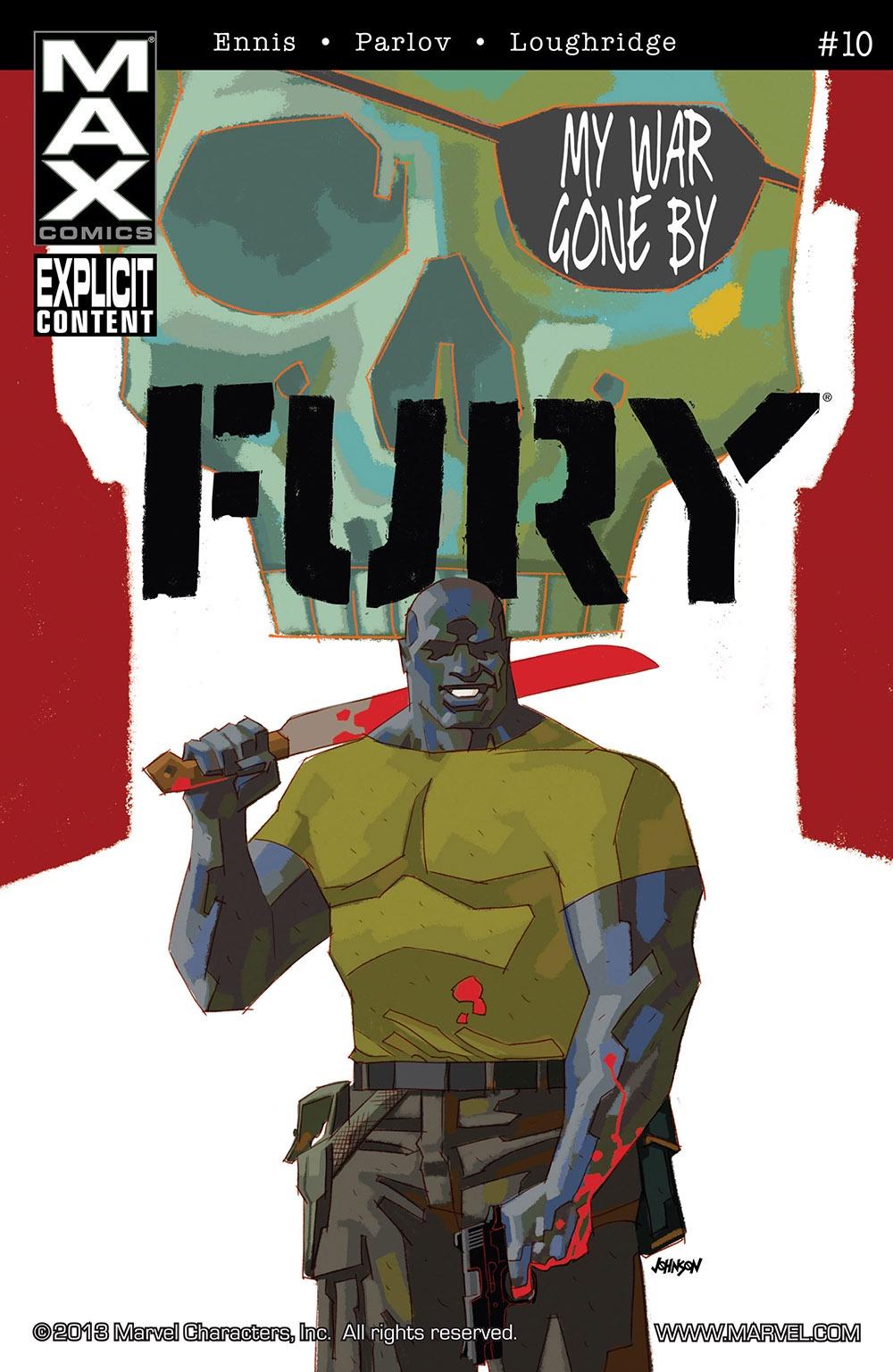 Ennis Parlov Loughridge Fury Max (2013 Marvel) #10