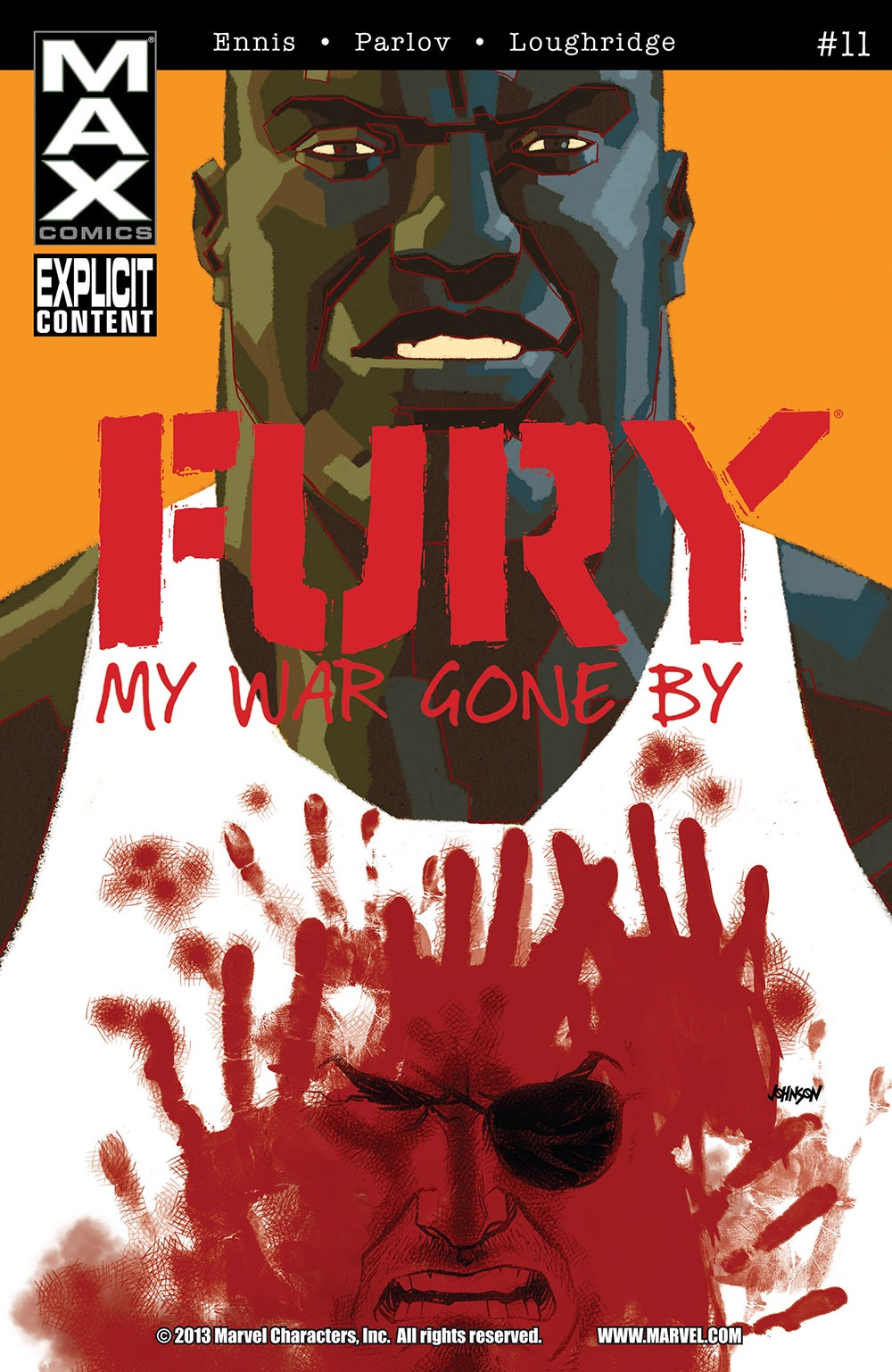 Ennis Parlov Loughridge Fury Max (2013 Marvel) #11