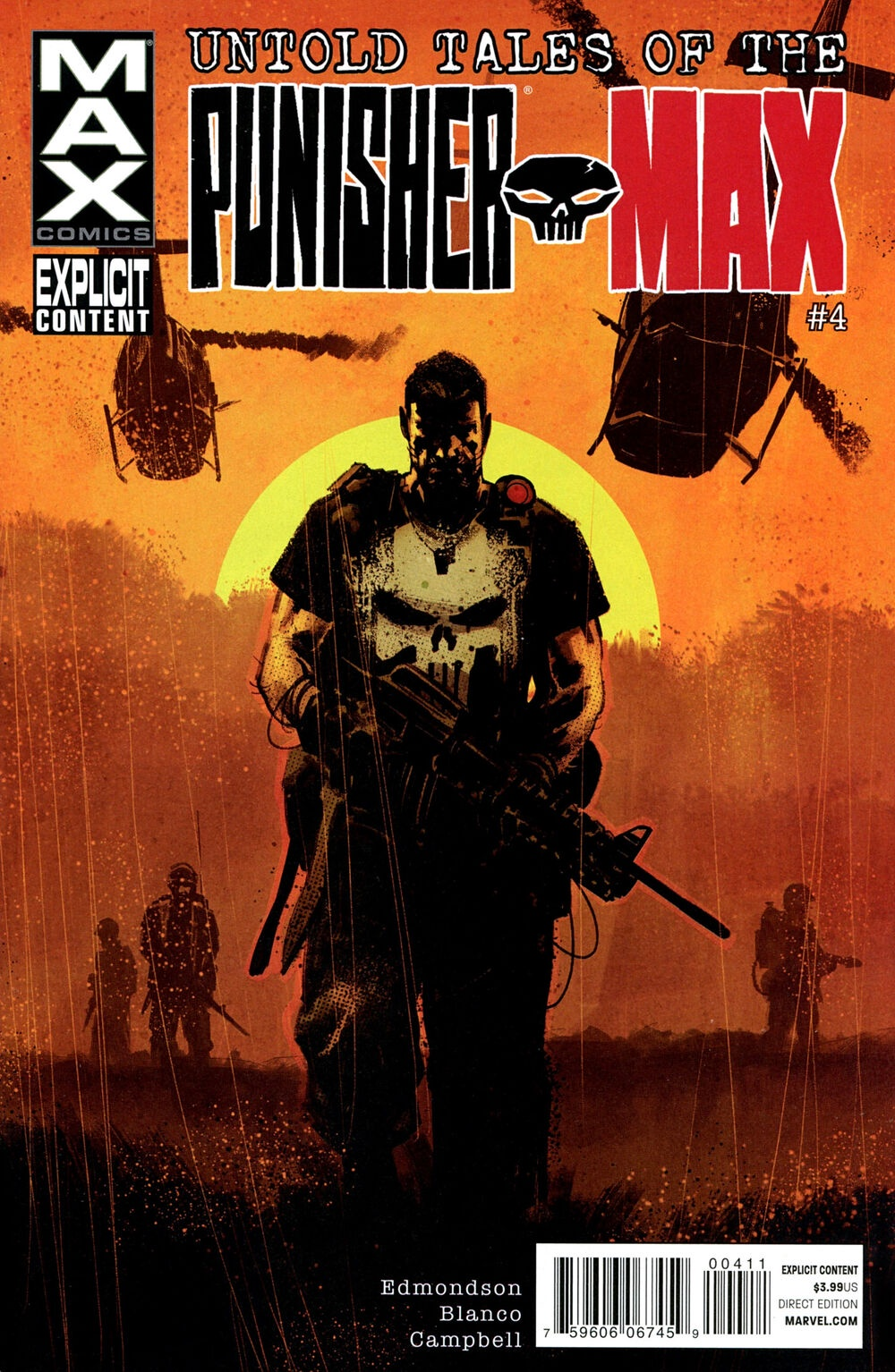 Edmmondson Blanco Campbell Untold Tales of Punisher Max (2012) #4