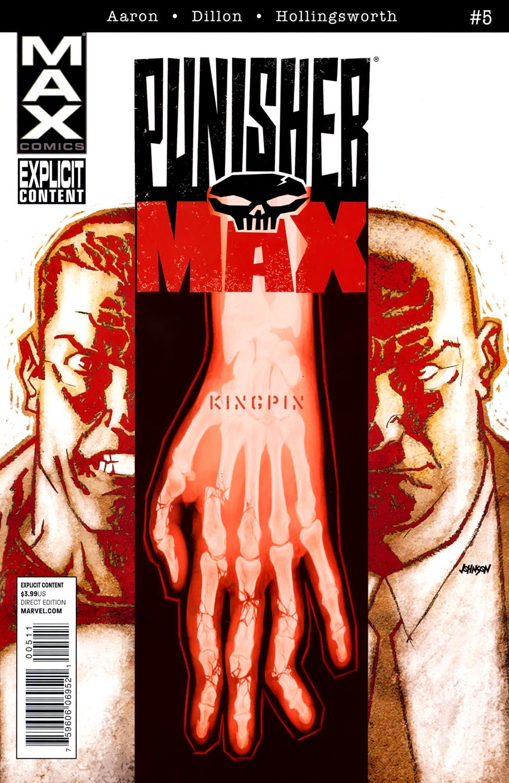 Aaron Dillon Hollingsworth Punisher Max (2010-2012 Marvel) #5
