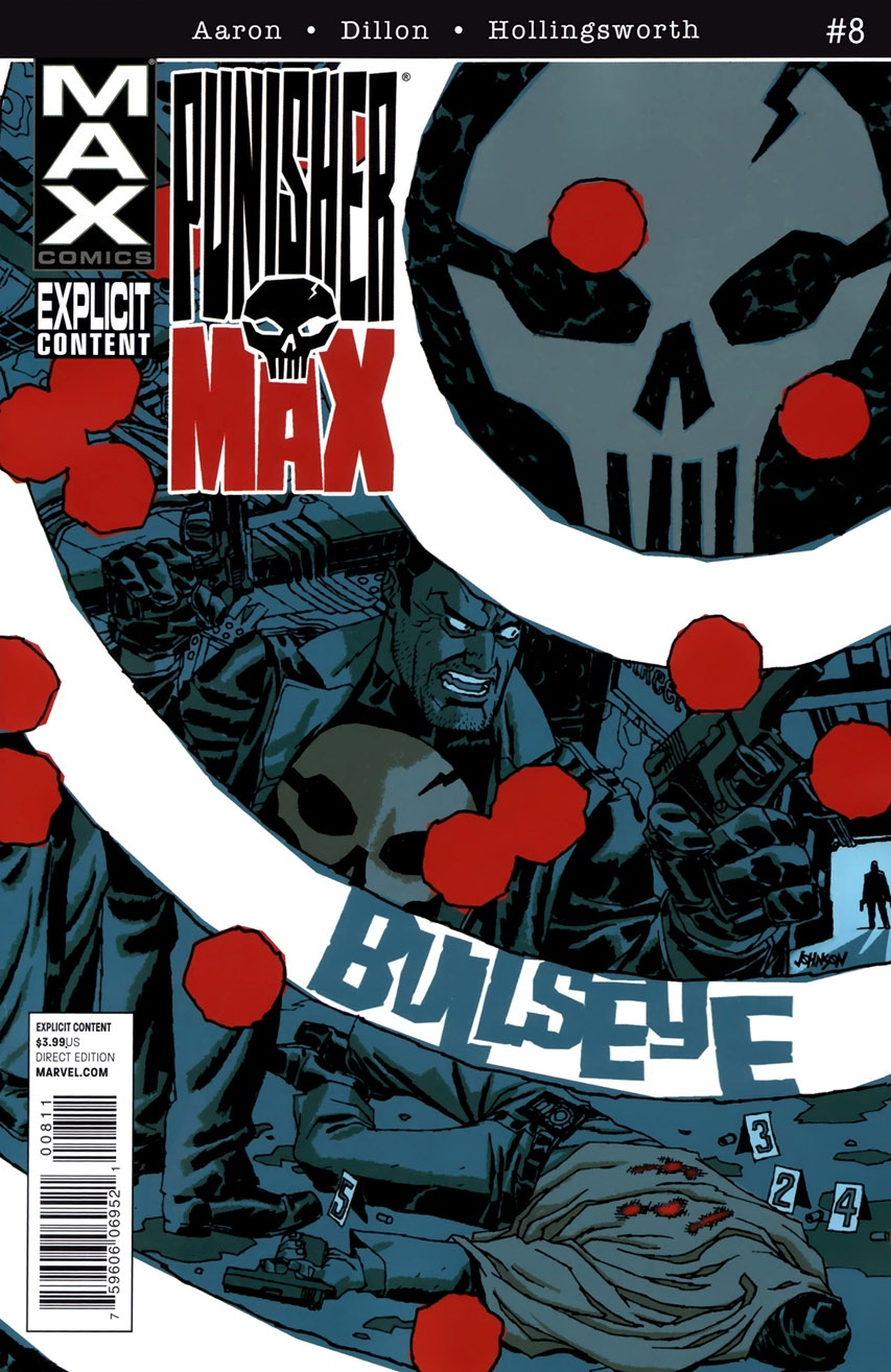 Aaron Dillon Hollingsworth Punisher Max (2010-2012 Marvel) #8