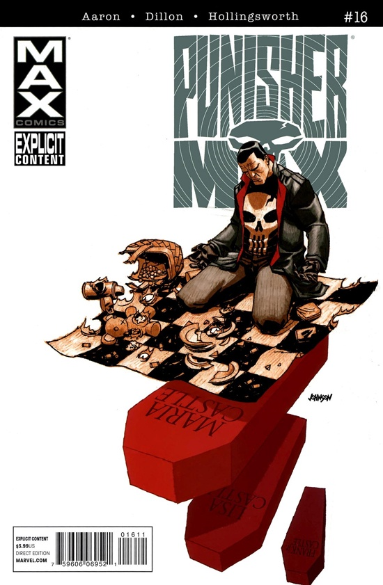 Aaron Dillon Hollingsworth Punisher Max (2010-2012 Marvel) #16