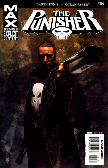 Ennis Parlov Punisher (2004 7th Series) Max #54