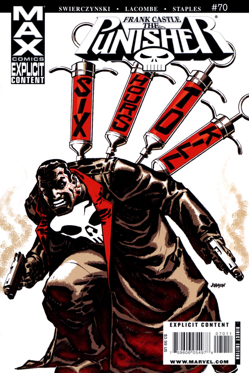 Swierczynski Lacombe Staples Punisher (2004 7th Series) Max #70 brotherly love