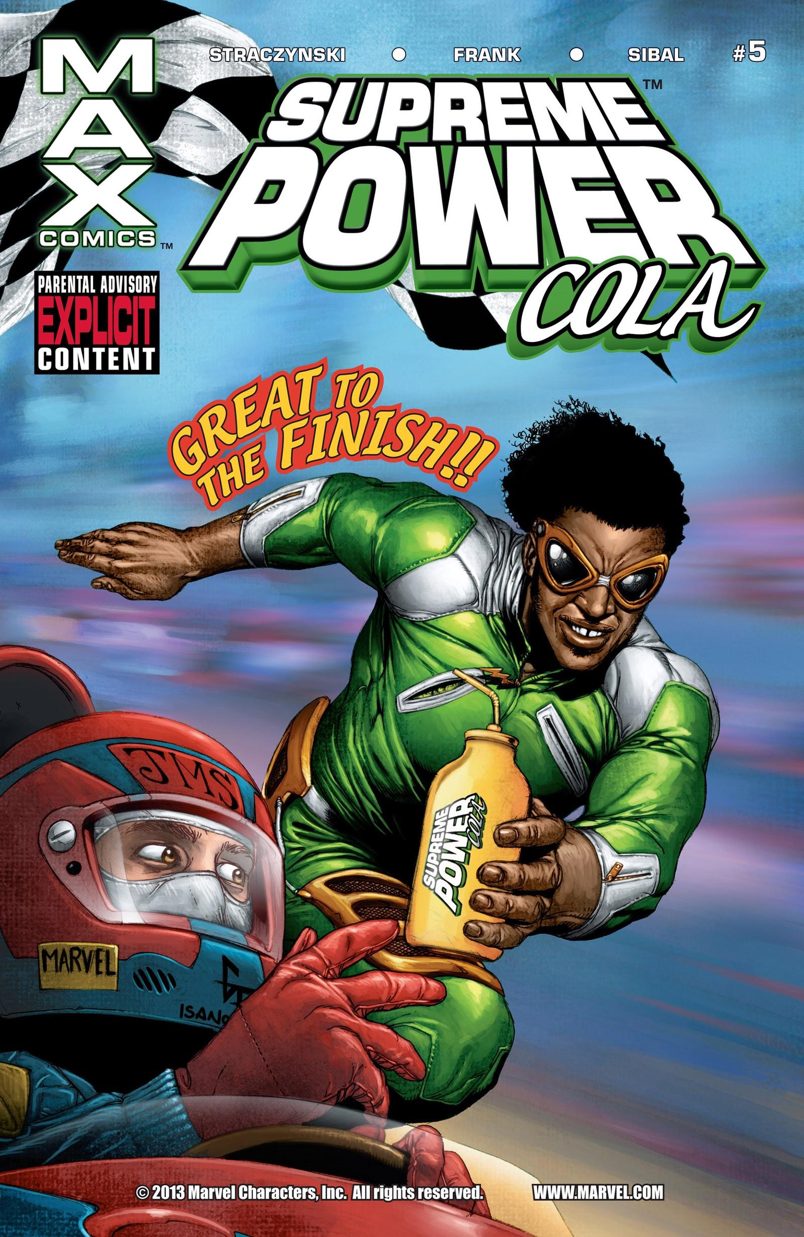 Supreme Power (2003) #5