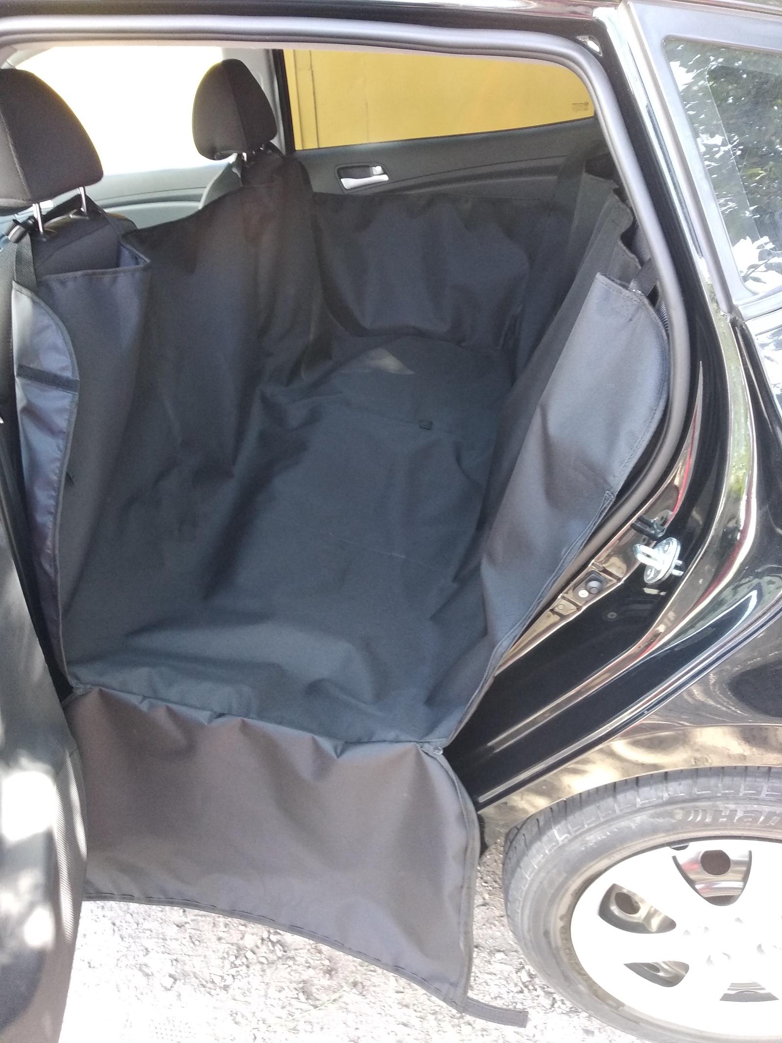 77143 Автогамак премиум standart,2 слоя ,черный автогамак auto premium для перевозки некрупных собак