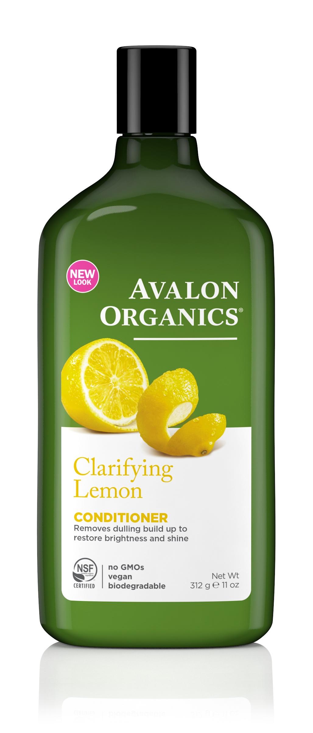 AVALON ORGANICS Кондиционер с маслом лимона, для усиления блеска недорго, оригинальная цена