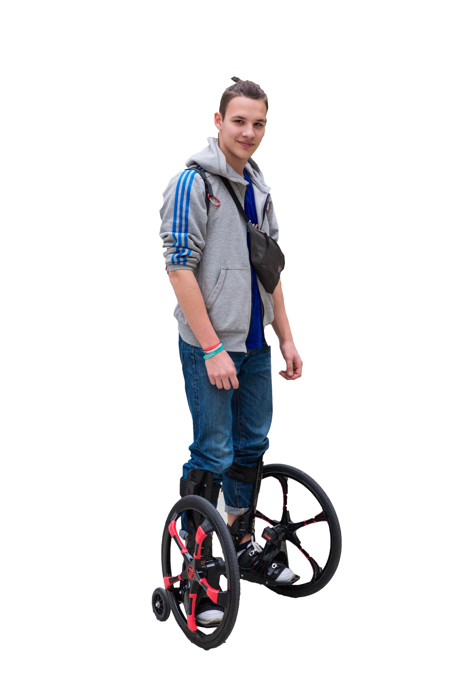 Комплект: Роликовые коньки+защита Tafeng Sport