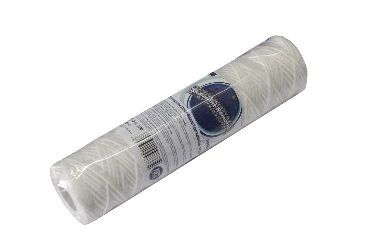 Картридж из полипропиленовой нити 10SL - 100 мкм, Aquafilter FCPP100, 628