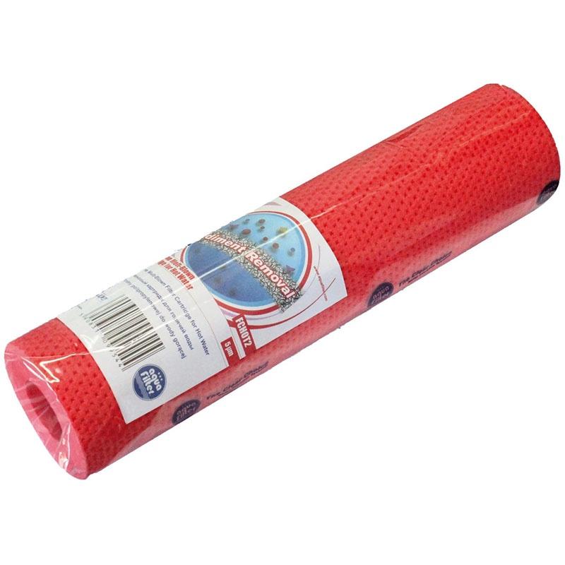 Картридж для горячей воды 10SL - 5 мкм (полипропилен, пропитанный нейлоном, технология melt-blown) Aquafilter FCHOT2, 647