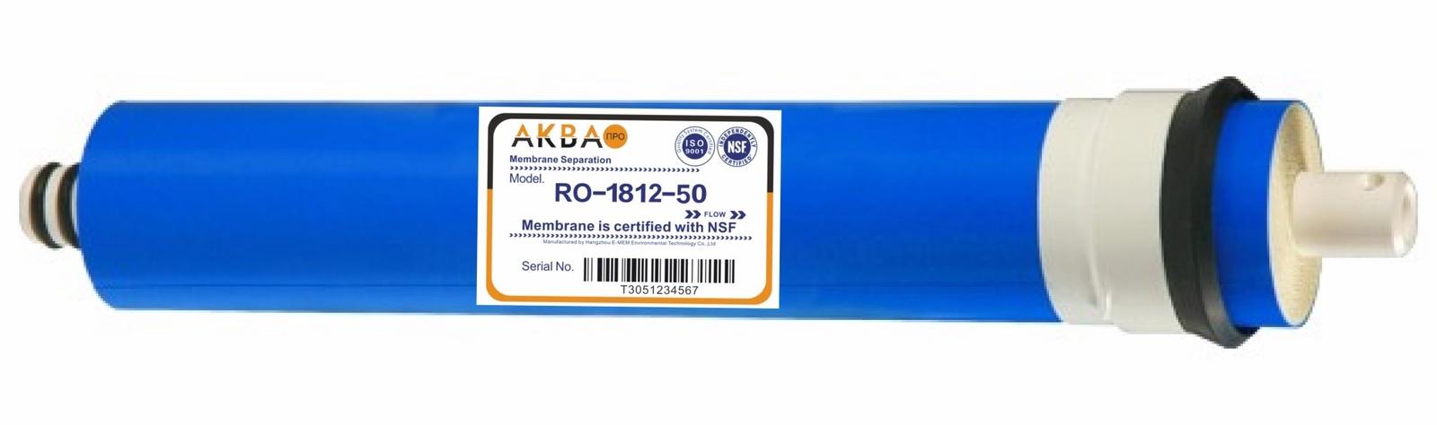 Обратноосмотическая мембрана (1812 - 50 GPD) АКВА ПРО 460
