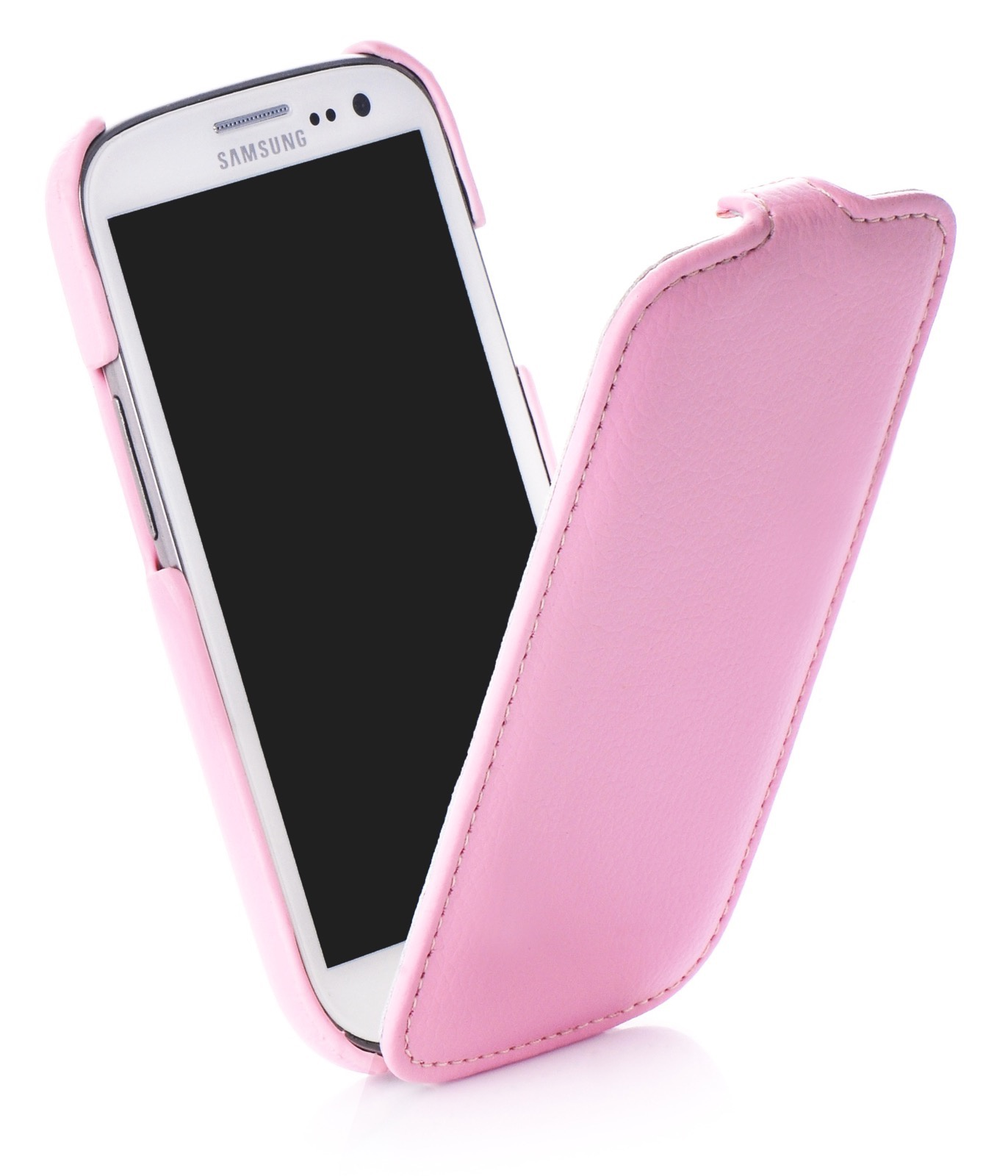 Чехол книжка Melkco кожа rose для Samsung Galaxy S3,380077, розовый