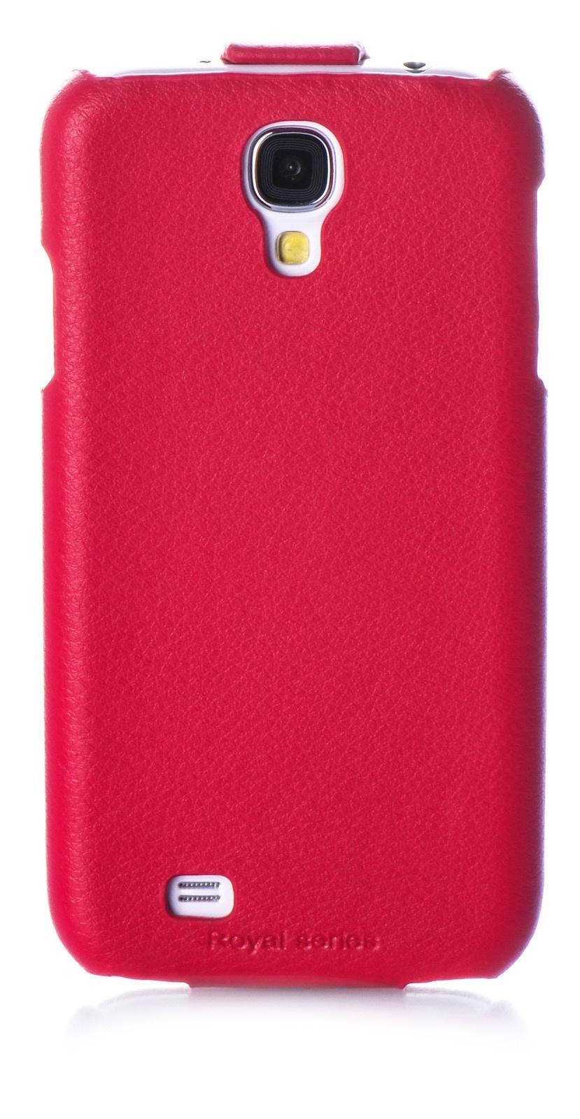 Чехол книжка HOCO кожа red для Samsung Galaxy S4,450042, красный цена в Москве и Питере
