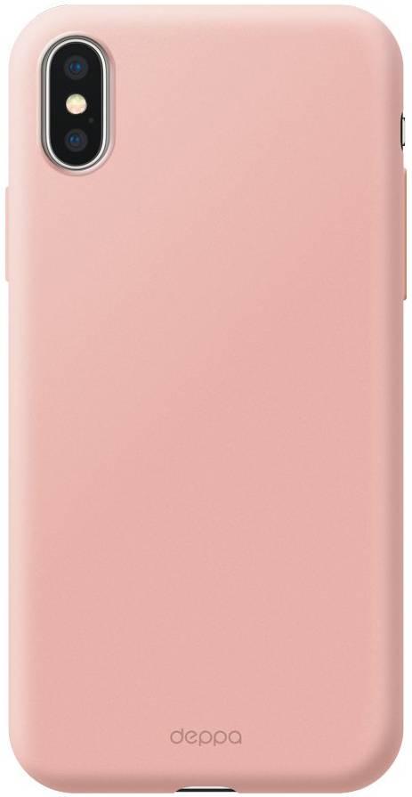 Чехол Deppa Air Case для Apple iPhone XS Max (Розовое золото) чехол deppa air case для apple iphone x xs розовое золото