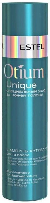 Шампунь-активатор роста волос OTIUM UNIQUE, 250 мл estel professional шампунь активатор стимулирующий рост волос otium unique 250мл