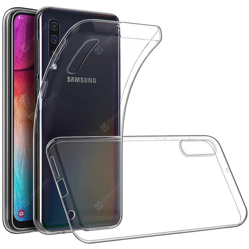 Силиконовый чехол для Samsung Galaxy A70