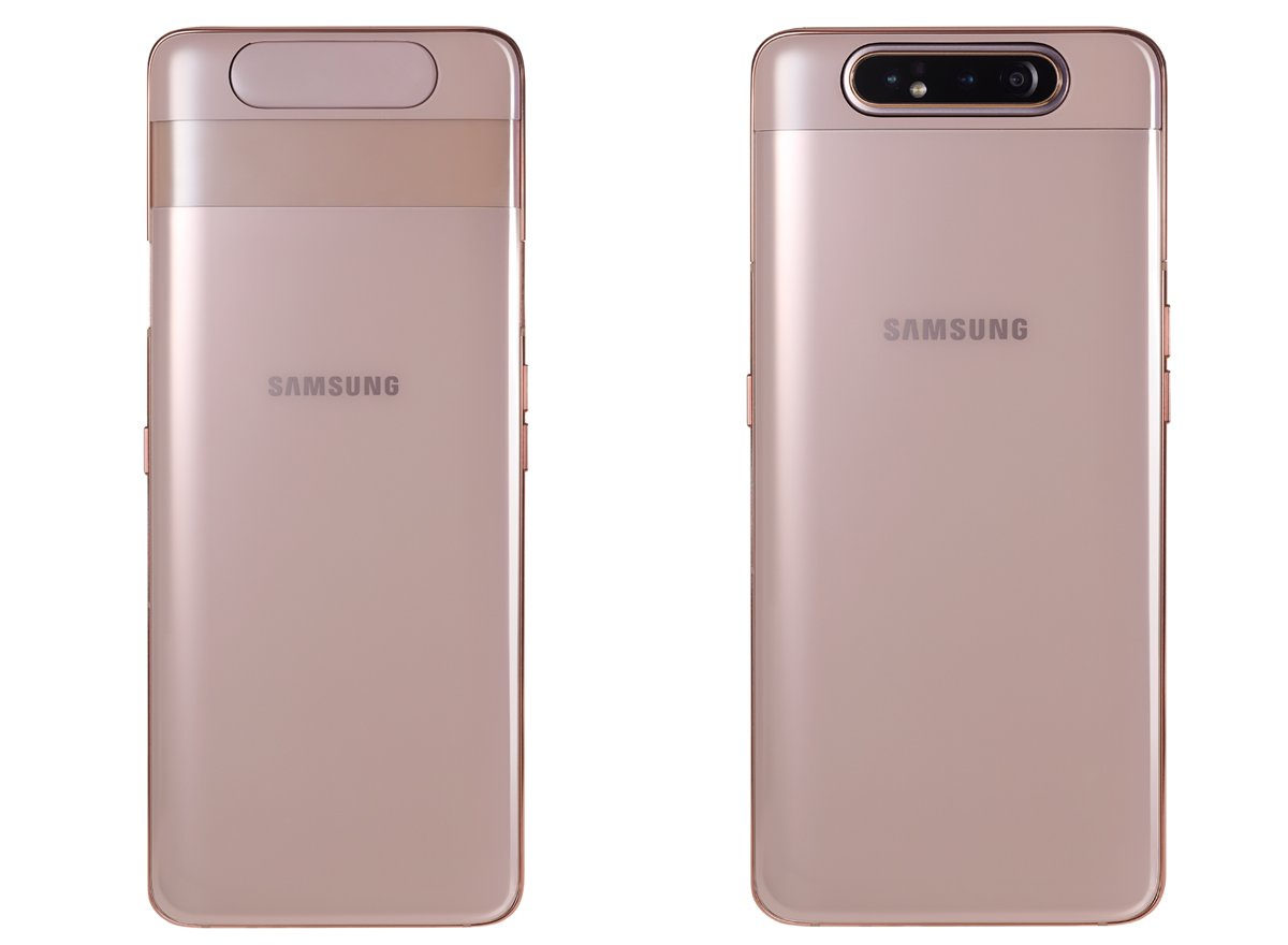 Силиконовый чехол для Samsung Galaxy A80